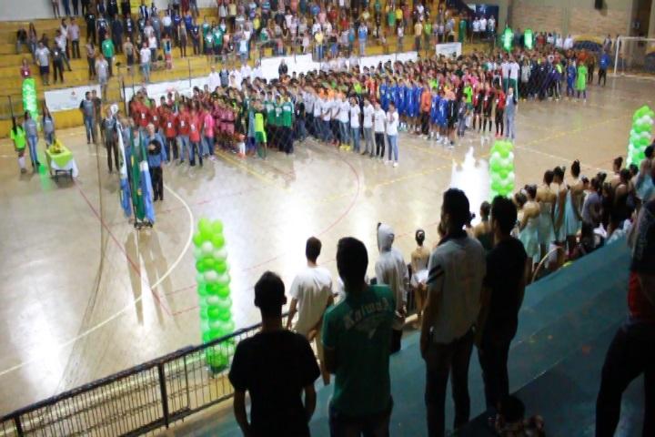 JOJUMS – Abertura da etapa Futsal