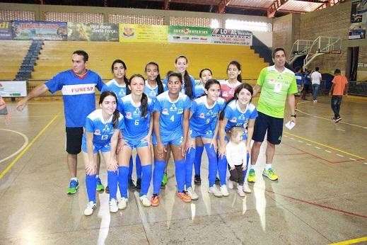 JOJUMS – Campo Grande é campeã do futsal, naipe feminino dos Jogos da Juventude