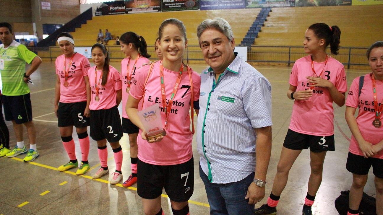 Meninas de Costa Rica são bronze nos Jogos da Juventude de Mato Grosso do Sul